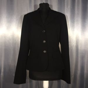 Loft by Ann Taylor womens three button suit jacket